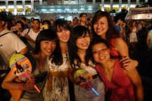 retro night with the girls